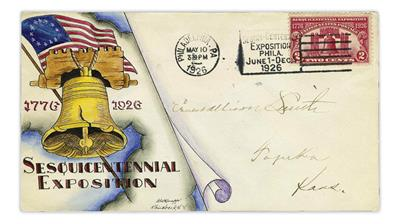 dorothy-knapp-first-day-cover-1926-sesquicentennial-exposition-stamp