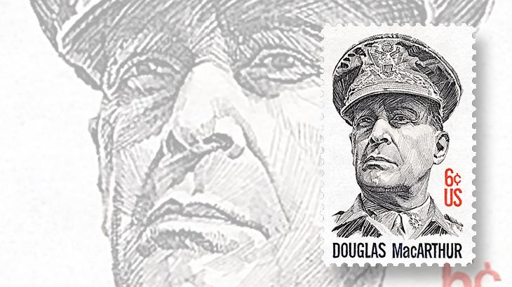douglas-macarthur-commemorative-stamp-1971