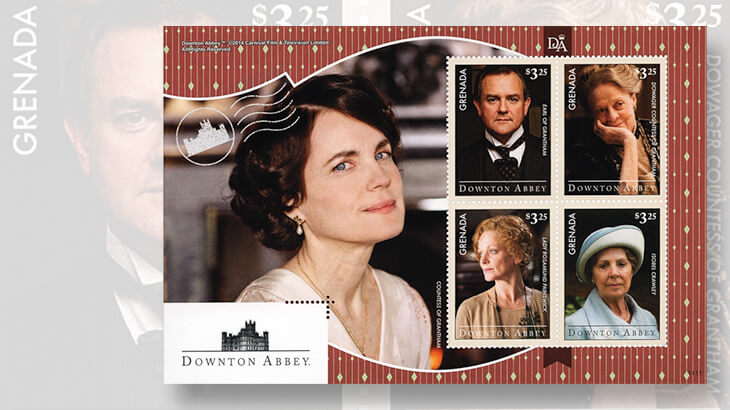 Downton abbey setting included in new royal mail issue - Downton abbey histoire ...