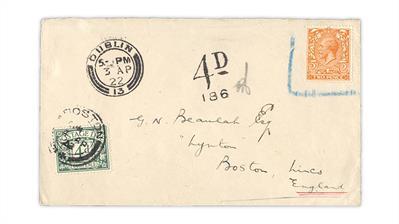 dublin-ireland-boston-england-1922-postage-due-cover