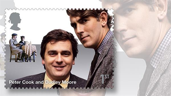 dudley-moore-peter-cook-stamp