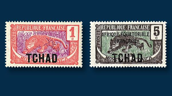 early-chad-stamps