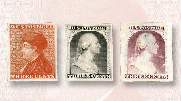 early-united-states-stamp-essays-franklin-washington