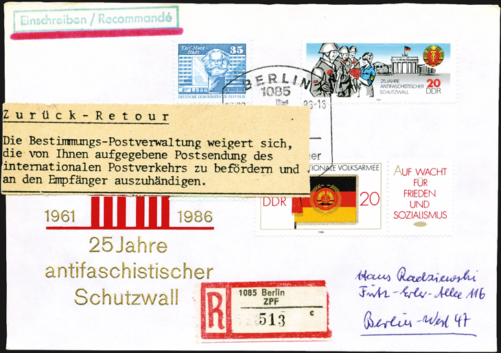 east-germany-aps-black-blot-berlin-wall-stamp-registered-first-day-cover