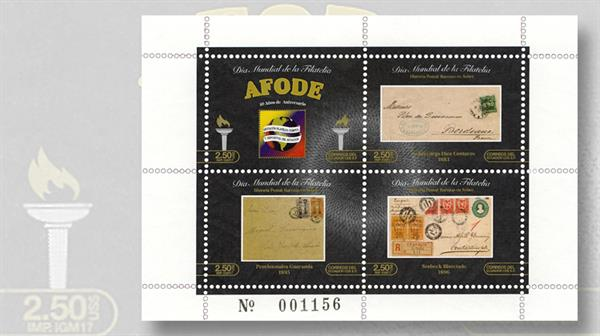 ecuador-world-philately-day-sheet