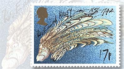 edmond-halley-comet-british-stamp