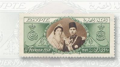 egypt-1938-king-farouk-birthday-stamp-tip-of-the-week