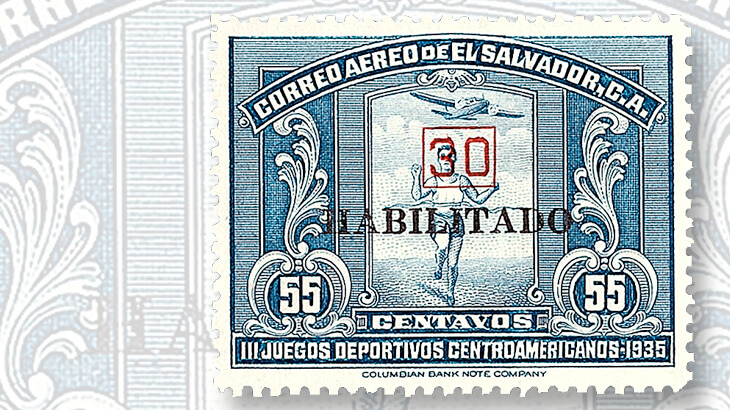 el-salvador-fifty-five-centavo-airmail-issue