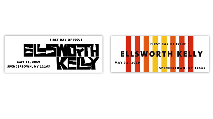 ellsworth-kelly-first-day-postmarks