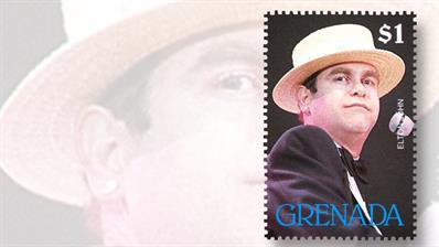 elton-john-grenada-stamp