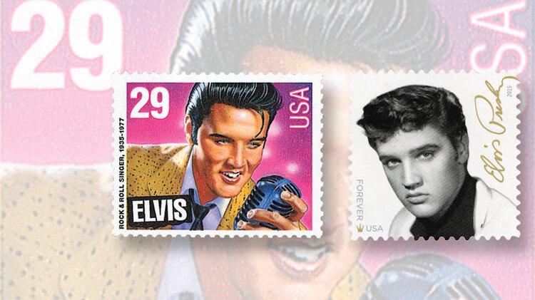 Elvis Presley stamps