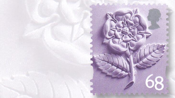 english-tudor-rose-stamp