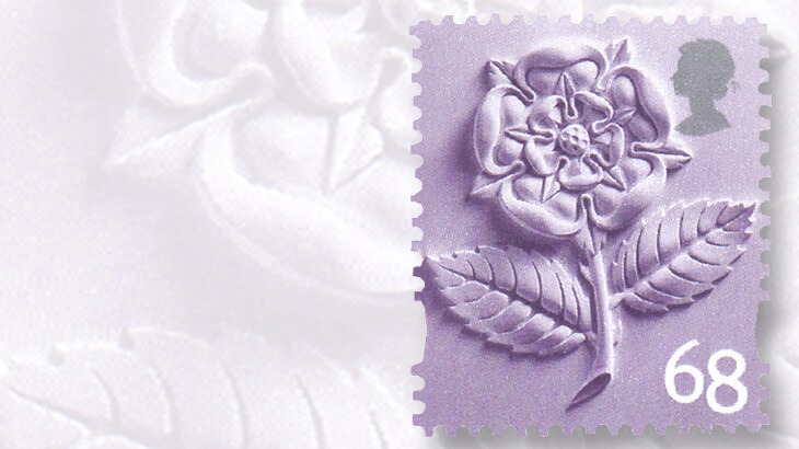 english-tudor-rose-stamp