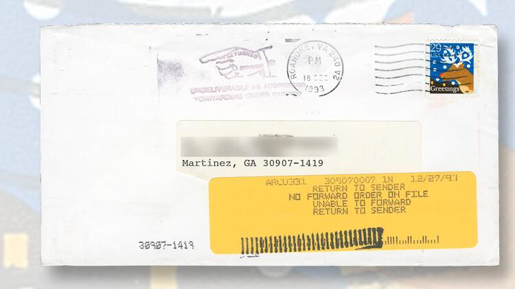 envelope-computer-printed-yellow-label