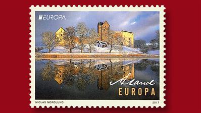 europa-stamp-kastelholm-castle