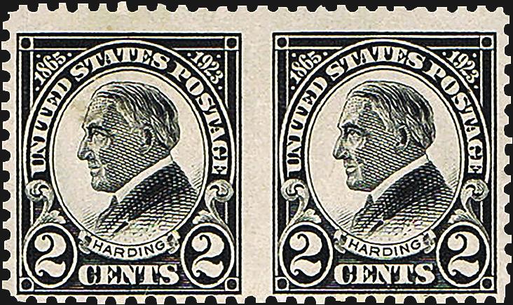 expertization-warren-harding-stamp-fake-pair-1923