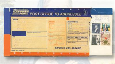 express-mail-cover-john-bassett-moore-stamp