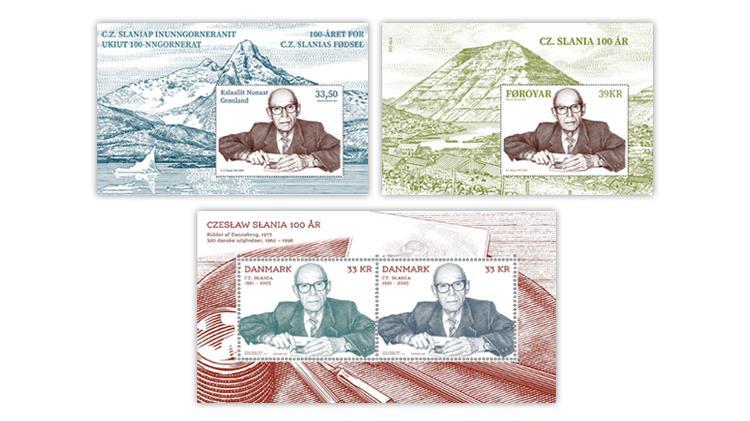 faroe-islands-greenland-denmark-2021-czeslaw-slania-souvenir-sheets