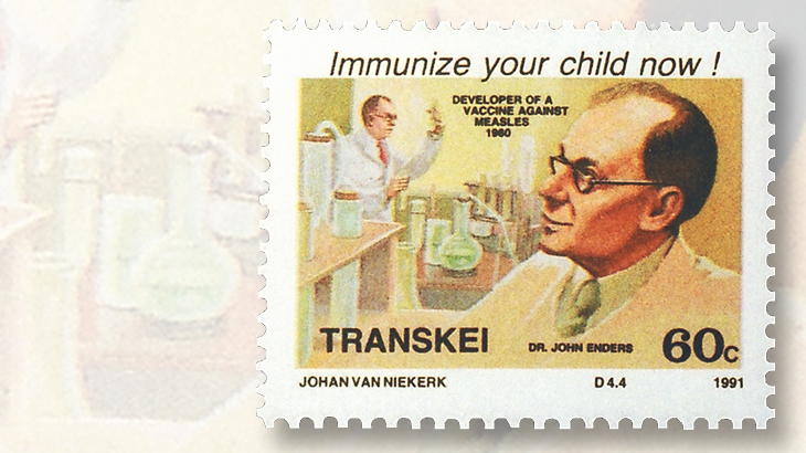 father-of-modern-vaccines-transkei-stamp