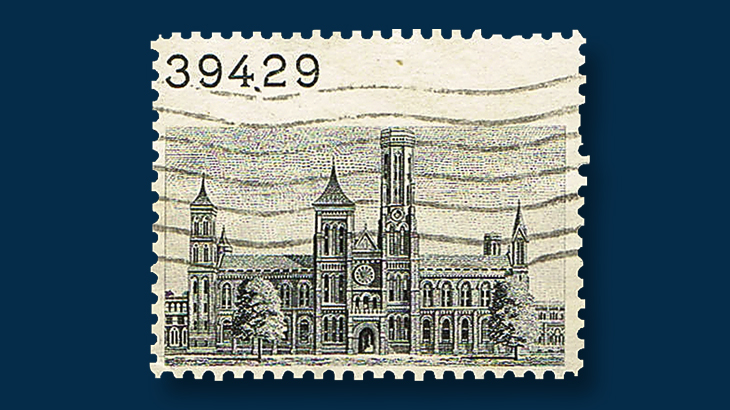 fifteen-cent-smithsonian-single-stamp