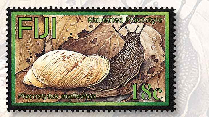 fiji-2004-land-snail-stamp