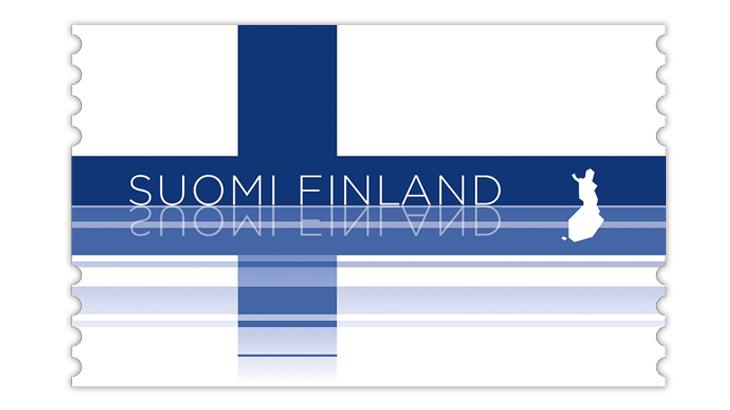 finland-2020-blue-reflection-flag-stamp