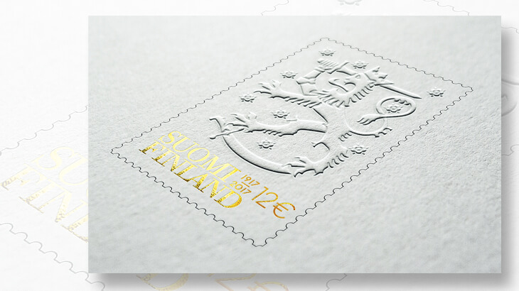 finland-coat-of-arms-stamp