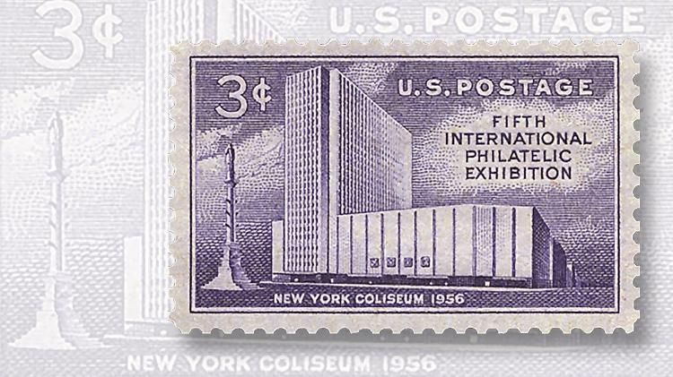 fipex-new-york-coliseum-stamp