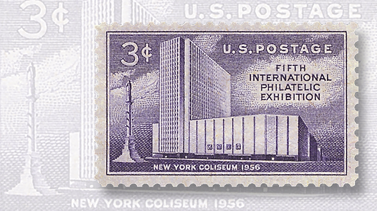 fipex-new-york-coliseum-stamp