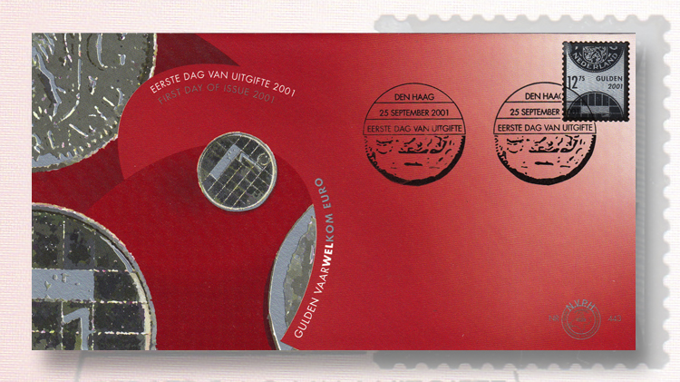 first-day-cover-for-the-netherlands-first-silver-stamp
