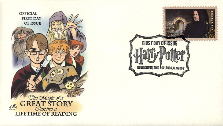 first-day-covers-artcraft-harry-potter-cachet