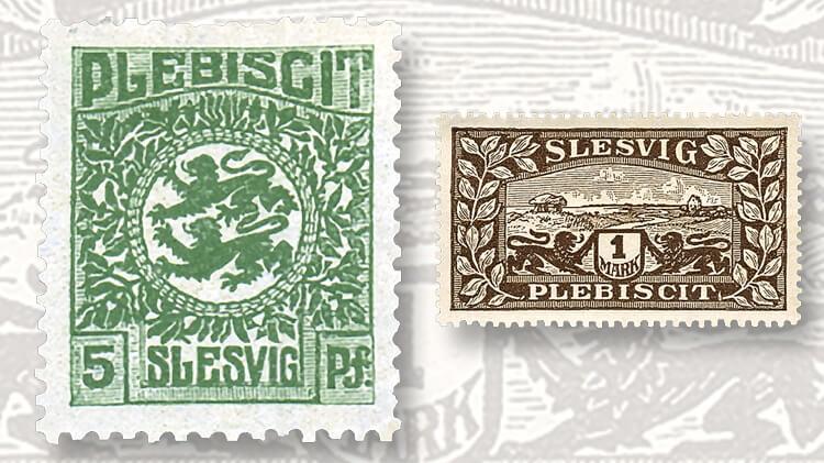 first-stamp-issue-schleswig-designs