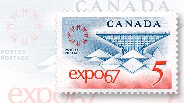 five-cent-blue-centennial-year-stamp