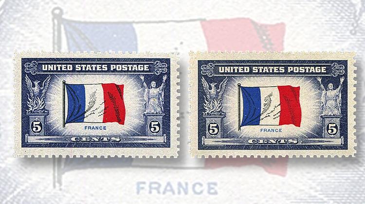 five-cent-france-stamp