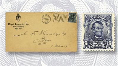 five-cent-lincoln-stamp