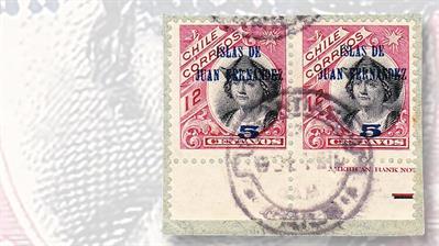 five-centavo-islas-de-juan-fernandez-overprint-error-stamp