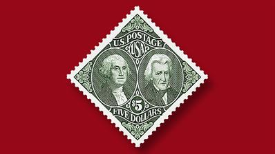 five-dollar-washington-jackson-stamp-off-sale