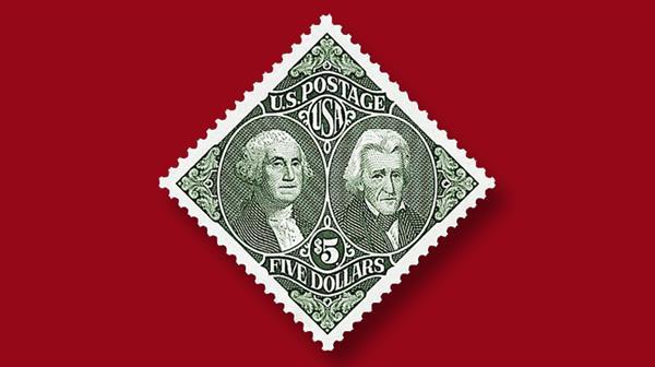 five-dollar-washington-jackson-stamp-off-sale