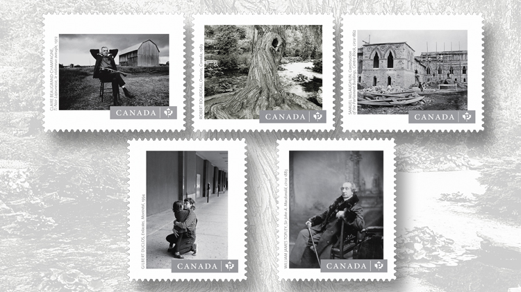 five-monochrome-stamps