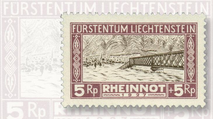 five-rappen-rheinnot-flood-relief-stamp-set