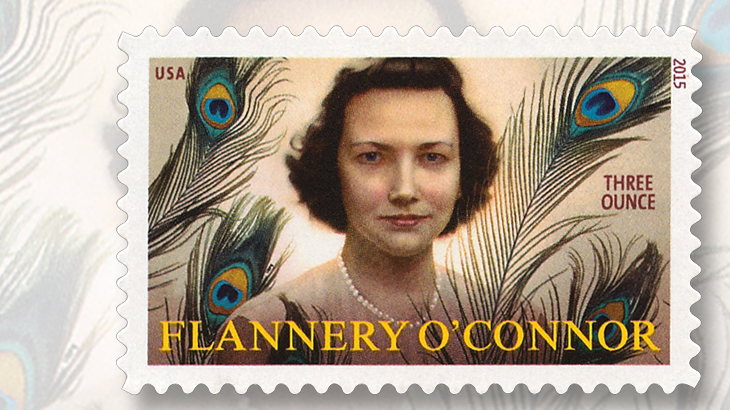 flannery-oconnor-three-ounce-rate-forever-stamp