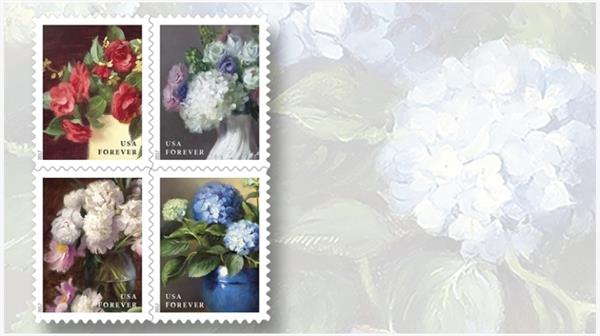 flowers-garden-stamps-double-sided-panes-coil-rolls-scott-catalog-update