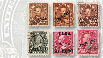 four-cent-lincoln-stamps-philippines-overprint