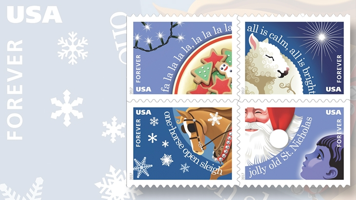 four-christmas-carols-stamps