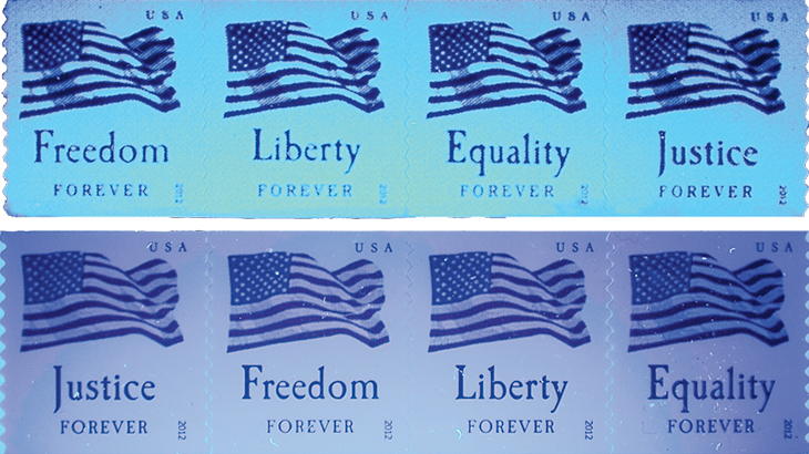 four-flags-coil-stamps-counterfeits