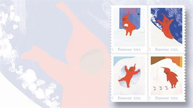 four-snowy-day-nondenominated-forty-nine-cent-forever-stamps