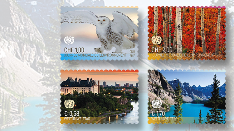 four-united-nations-world-environment-day-stamps