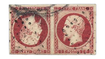 france-1853-emperor-napoleon-iii-tete-beche-pair