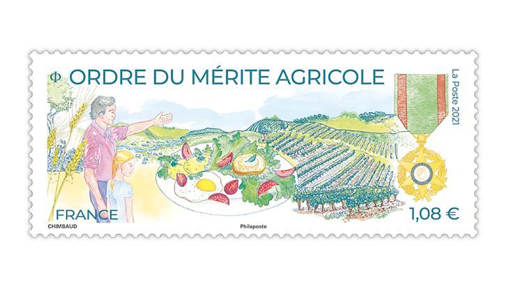 france-2021-order-agricultural-merit-stamp