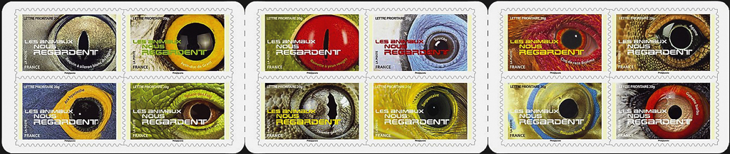 france-animals-are-watching-booklet-stamps-2015